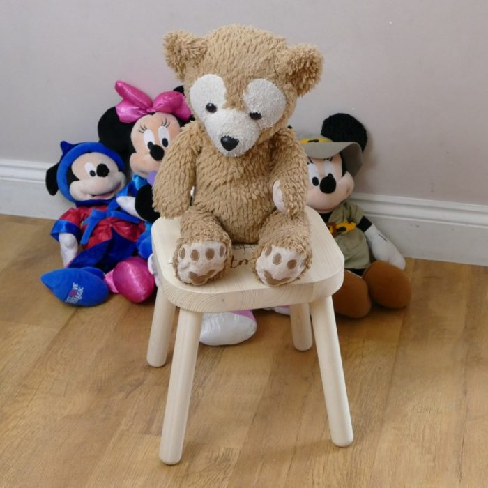 Personalised childrens stool for children