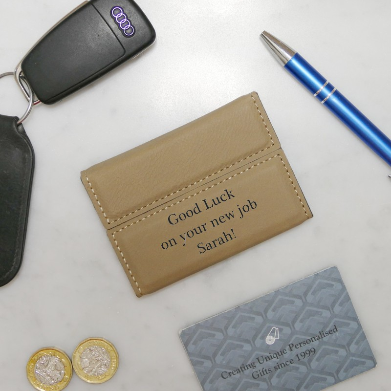 Personalised Business Card Holder Snobsgifts
