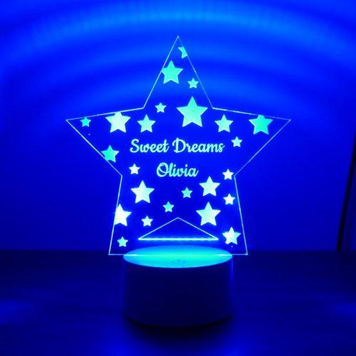 Childrens Star Night Light