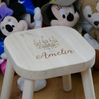 Personalised childrens stool