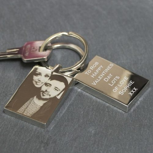 Photo Engraved Keyring