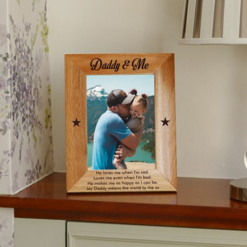 Personalised Daddy Photo Frame